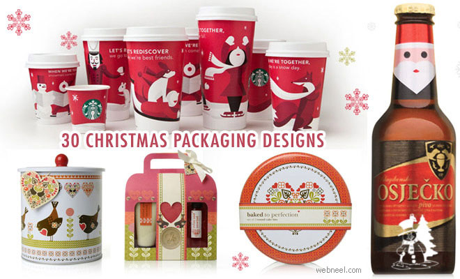 30 Creative Christmas themed Packaging Design examples
