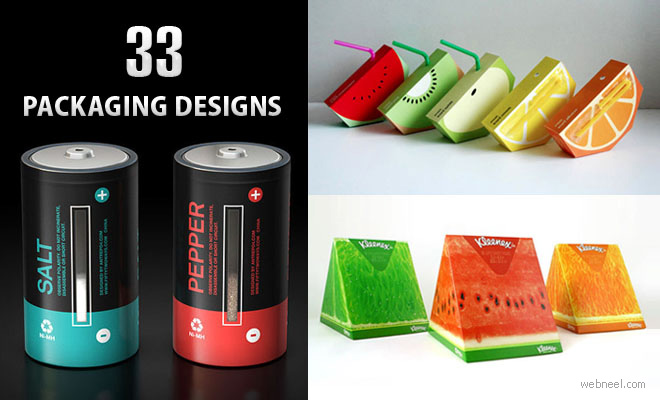 33 Brilliant and Creative Packaging Design examples for your inspiration