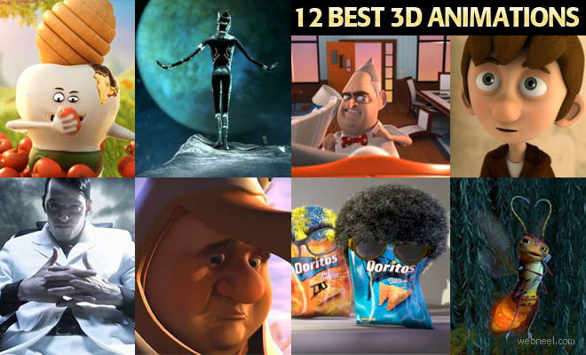 thumb 3d12a 12 Best 3D Animation and TV Commercial Videos for you Inspiration