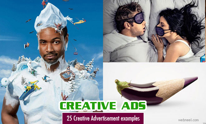 25 Creative and Brilliant Advertisement Design Examples for your inspiration