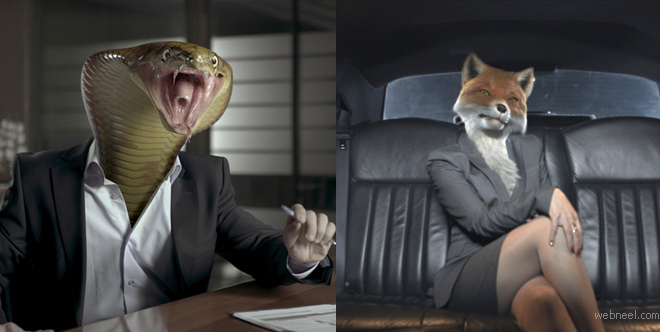 Animal Head People - Inspiring TV Commercial Video