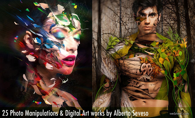 25 Creative Photo Manipulation works and Digital Art works by Alberto Seveso