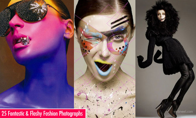 25 Fantastic and Flashy Fashion Photographs by Alix Malka