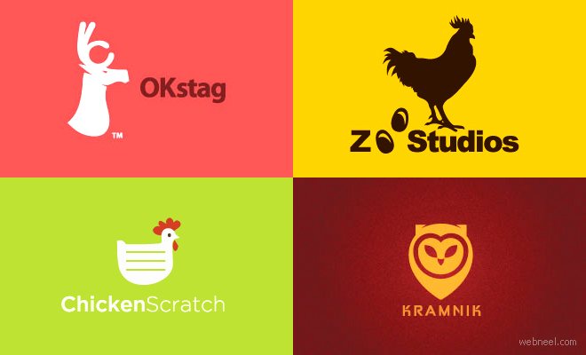 40 Beautiful Animal themed Logo Design examples for Inspiration