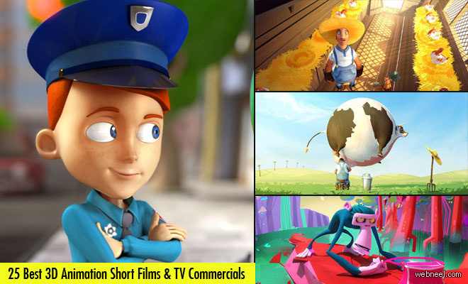 25 Best 3D Animation Short Films and TV Commercials for your inspiration