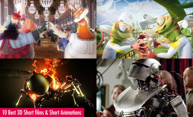 10 Best Funny 3D Short films and 3D Short Animations for you