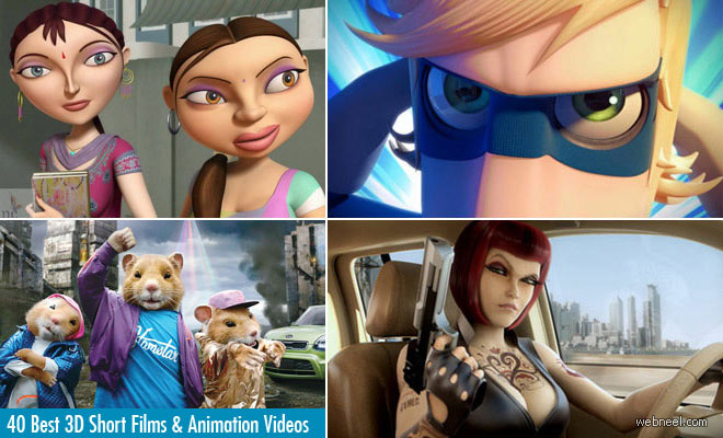 40 Best 3D Animation Videos   Short Films, TV Commercials and Motion Graphics videos