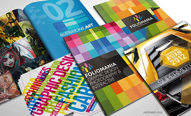 30 Beautiful and Creative Brochure Design examples for your inspiration