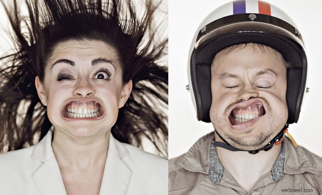 20 Creative and Funny Portrait Photography ideas by Tadao Cern - Blow Air Project