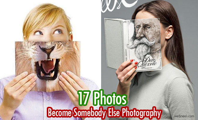 Read Books and Become Somebody Else - Creative Photography ideas