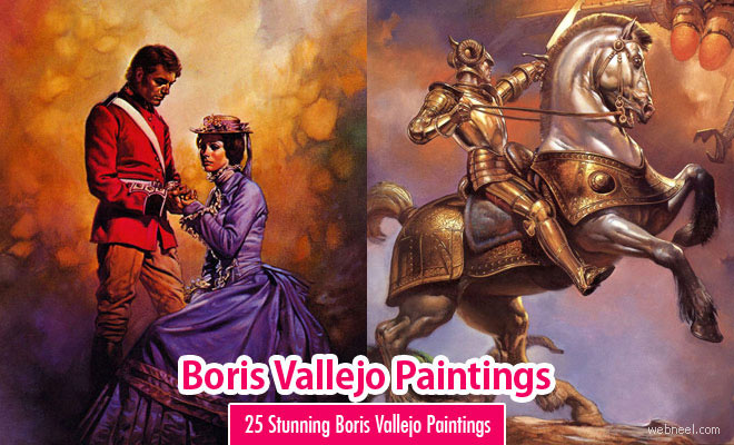 25 Beautiful Boris Vallejos Oil Paintings and Illustrations