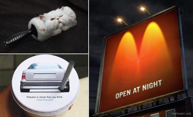 40 Brilliant and Creative Advertisement Photographs for your inspiration