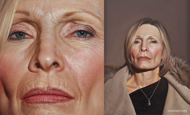 10 Mind Blowing Hyper-Realistic Oil Portraits by Bryan Drury