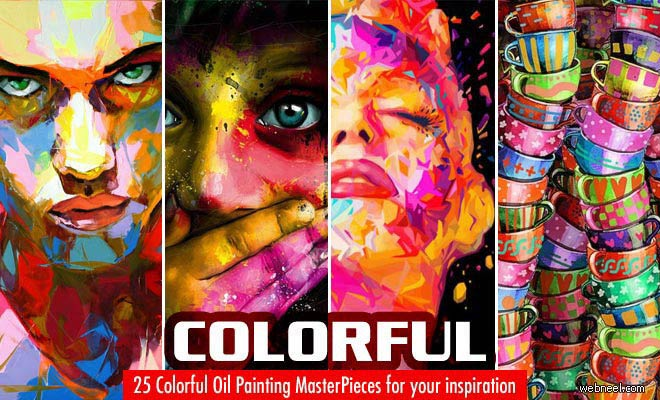25 Colorful Oil Painting Masterpieces around the world for your inspiration