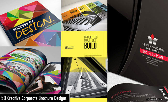 25 Creative Corporate Brochure Design examples for your Inspiration