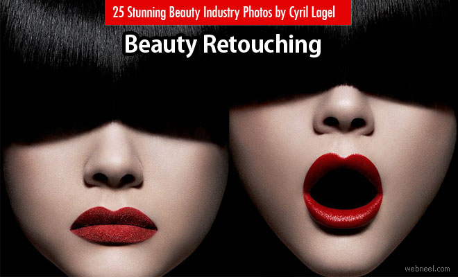 25 Beauty Skin Retouching works by Cyril Lagel - Beauty industry showcase