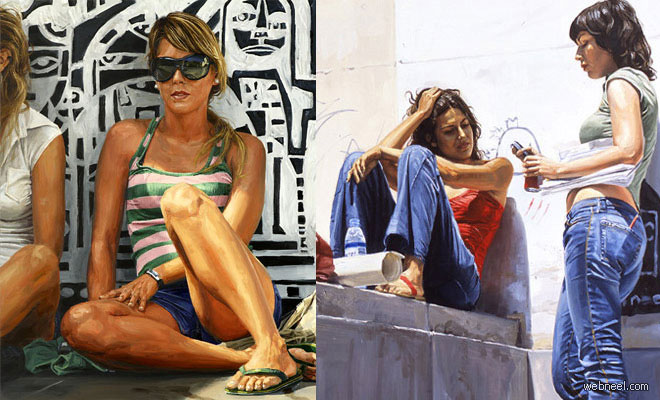 thumb delcampo 25 Awesome Urban Youth Paintings by Michele Del Campo