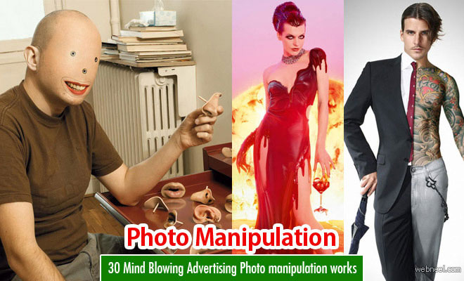 30 Mind Blowing Advertising Photo manipulation works by Dimitri Daniloff