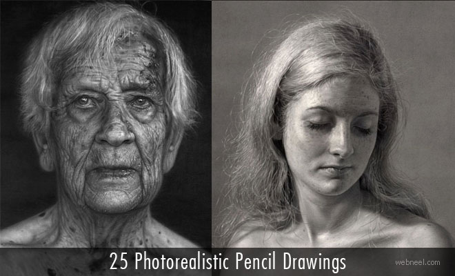 25 Unbelievable Photorealistic Pencil Drawings by Dirk Dzimirsky