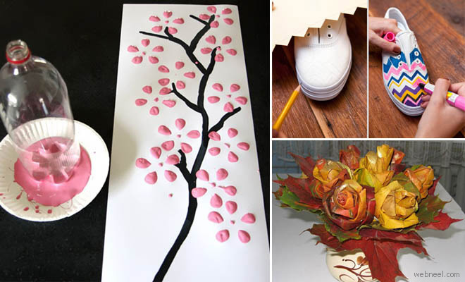 20 creative and awesome do it yourself project ideas diy for Awesome crafts to do at home