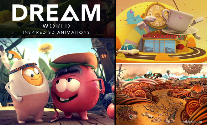 Beautiful 3D Animated Dream World - 3 Inspired animation showcase
