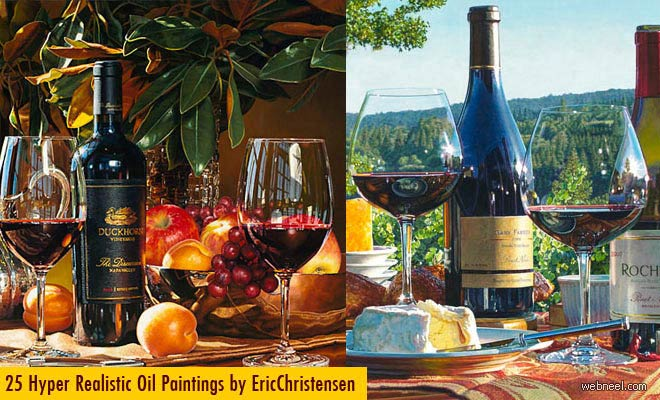 25 Extraordinary Hyper Realistic Oil Paintings by Eric Christensen