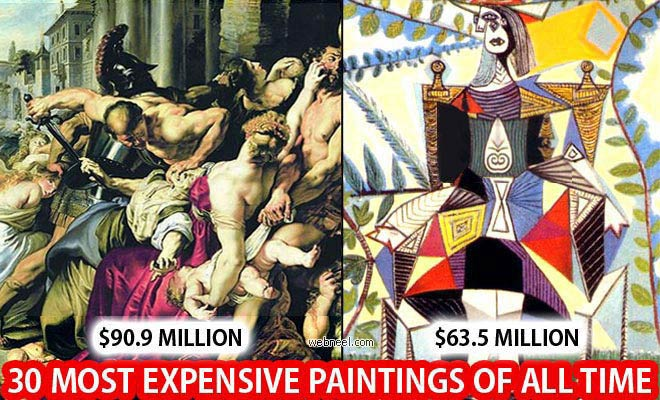 30 Most Expensive Paintings of All Time - Inspiring Showcase