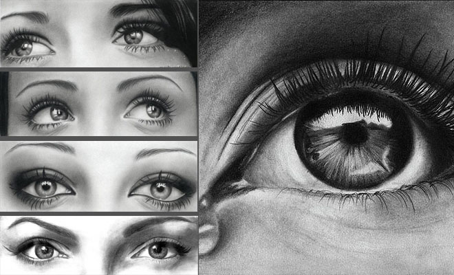 Drawing of eyes realistic