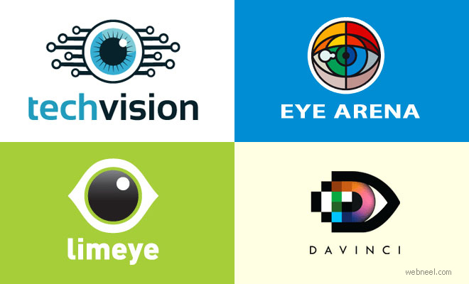 40 Creative Eye Logo Design examples for your inspiration
