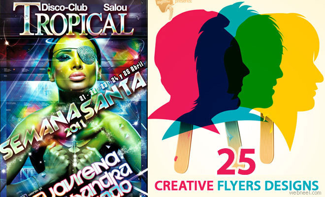 25 Awesome Flyer Design Promotional Ideas for you - The Boundless Creativity