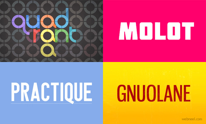 26 Free Professional Fonts for Graphic and web Designers - Download