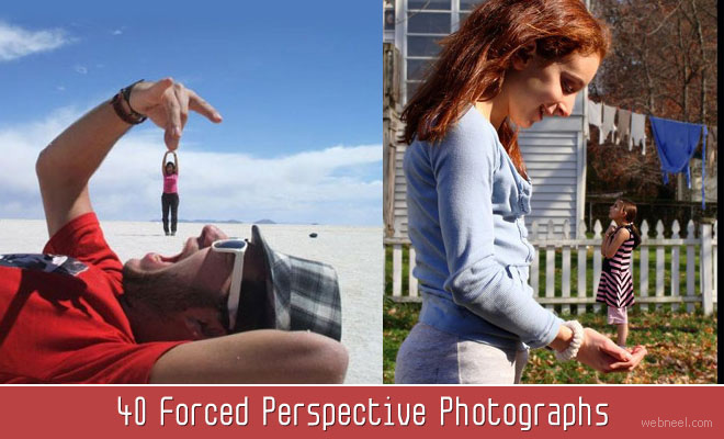 40 Forced Perspective Photographs around the world - Illusion Photography