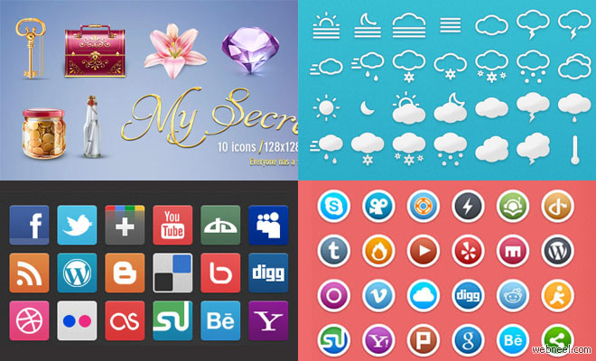 thumb freeicons2 25 Free Professional Icon Sets for Graphic and Web Designers   Download Now