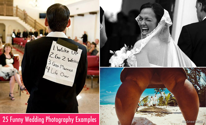 25 Most Funniest Wedding Photography examples for your inspiration