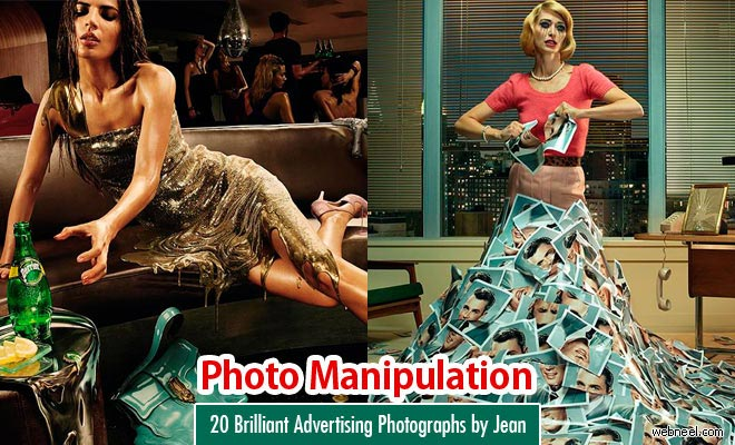 20 Brilliant Advertising Photographs by Jean Yves Lemoigne