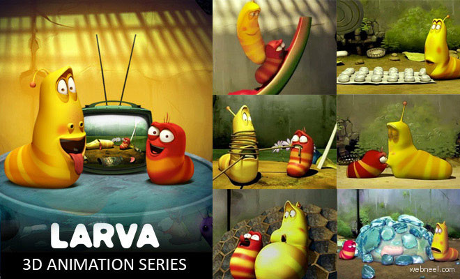 LARVA - 30 Most Funniest 3D Animated Short Films by Tuba