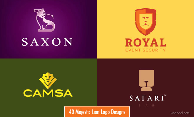 40 Majestic Lion Logo Design examples for your inspiration