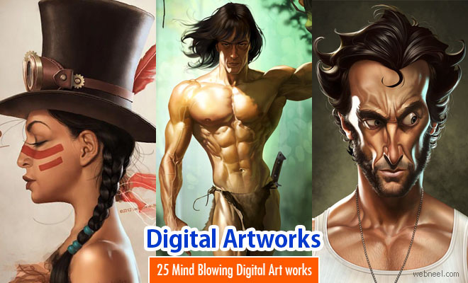 25 Mind Blowing Digital Art works and illustrations by Loopy Dave