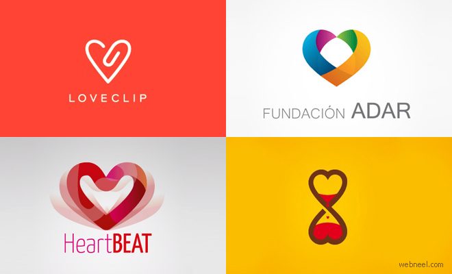 40 Best and Creative LOVE themed logo designs for your inspiration