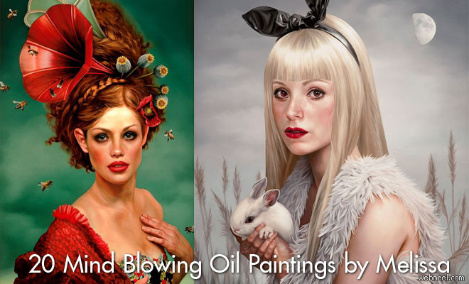 20 Mind Blowing Paintings by Melissa Forman - Mysterious and Surreal Portraits
