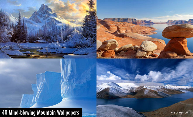 40 Mind-Blowing Mountain themed Wallpapers for your desktop