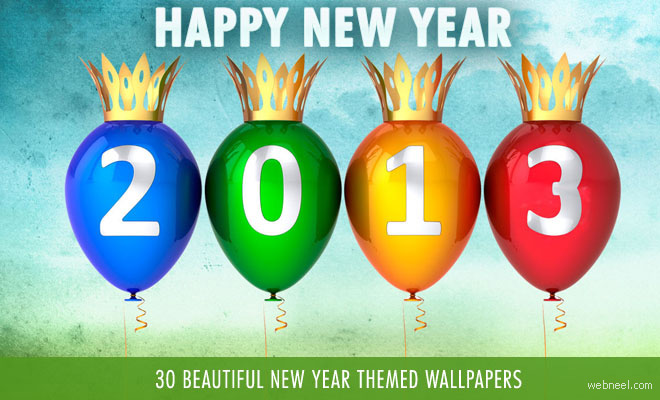 30 Beautiful New Year Wallpapers for your desktop