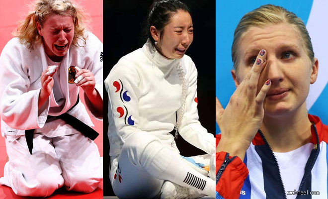 20 Photographs of Olympic Athletes Crying - Most Inspiring Photos