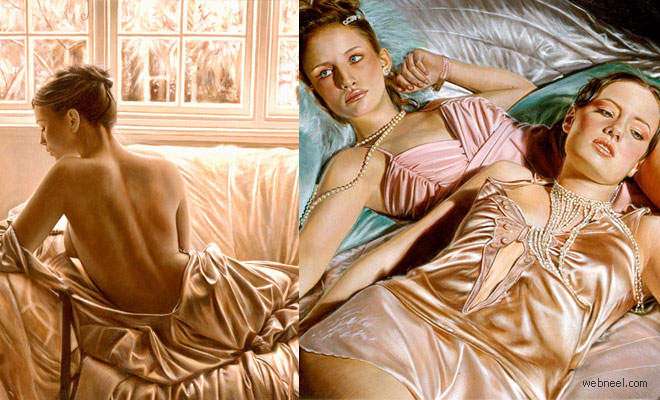 26 Realistic and Glamorous Oil Paintings by Famous Artist Rob Hefferan