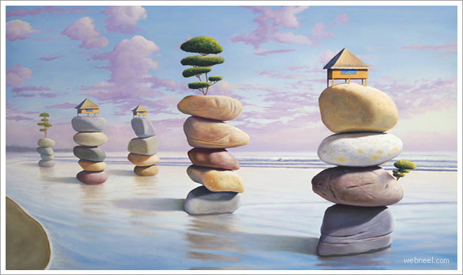 25 Beautiful and Surreal Oil Paintings by Paul David Bond