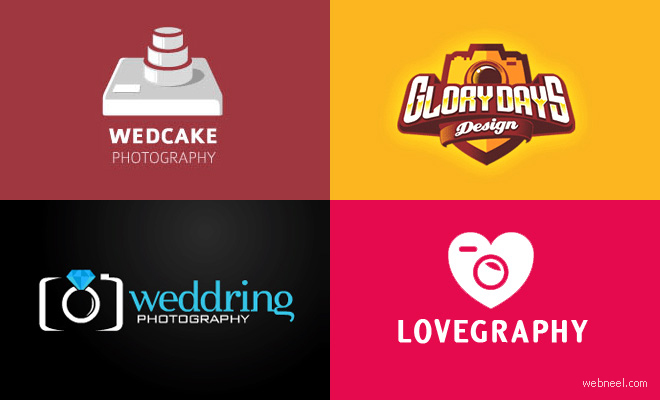 40 Creative Photography themed Logo Design examples for your inspiration