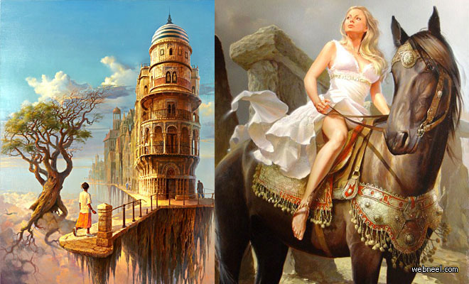 30 Finest Glazing Paintings by Artist Stanislav V Plutenko