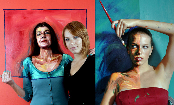 25 Incredible and Realistic Pop Out Paintings by Alexa Meade - Inspiring Showcase