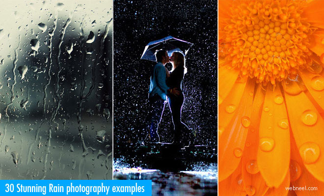 30 Stunning Rain Photography examples for your inspiration