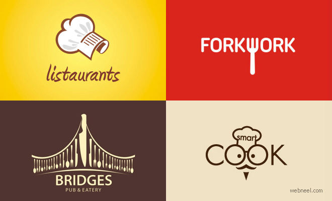 40 Creative Restaurant themed Logo Designs for your inspiration